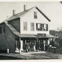 Photograph of Hawk's Store