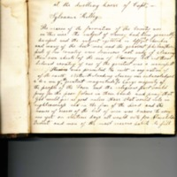 Minutes of the Conway Anti-Slavery Society