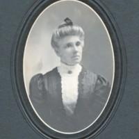 Portrait of Luella A. Jackman Pease