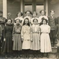 Conway Grammar School Class Photograph