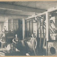 Workers in the Conway Cooperative Creamery