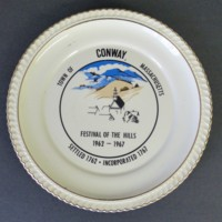 Conway Bicentennial Commemorative Plate