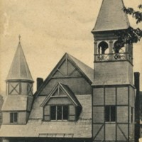 Postcard of the Conway Congregational Church
