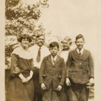Photograph of the Hassell Family