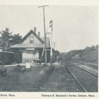 Postcard of South River Station