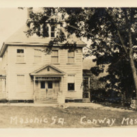 Postcard of Masonic Square