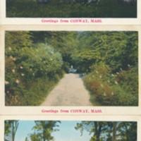 Colorized Postcards of Bucolic Scenes