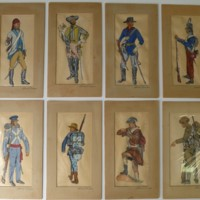 Paintings of American Military Uniforms