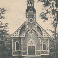 Postcard of the Catholic Church, Conway, Mass.