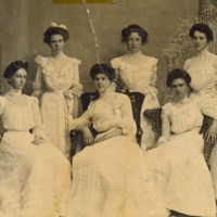 Conway High School Senior Class Photo, 1902