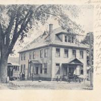 Postcard of Masonic Hall, Conway, Mass.<br /><br />
