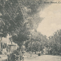 Postcard of River Street, Conway, Mass.