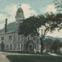 Postcard of the Conway Town Hall