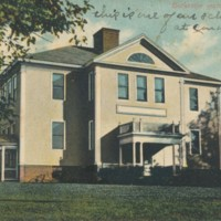 Postcard of Burkeville Grammar School