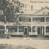 Postcard of Conway House Hotel<br /><br />