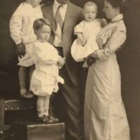 Portrait of  Allison Family