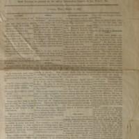 "Temperance Broadside, ""Vote No License,"" 1887"