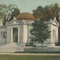 Postcard of Field Memorial Library<br /><br />