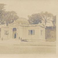 Postcard of Field Memorial Library