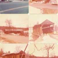 Color Snapshots of the Burkeville Covered Bridge