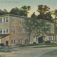 Postcard of DeWolfe & Hassell Shoe Factory