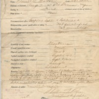 Enlistment and Discharge Service Records of Newell Edward Morton