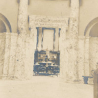 Postcard of the Interior of the Field Memorial Library