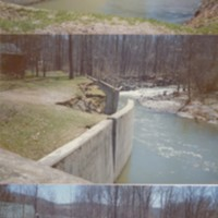 Photographs of 1987 Flood Damage Along the South River