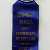 Bicentennial Pin and Ribbon