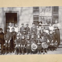 Conway Center School, Class Photo, 1890 ca.