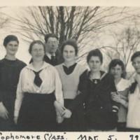 Conway High School Sophomore Class, 1918