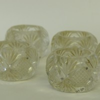 Cut Glass Salt Cellars